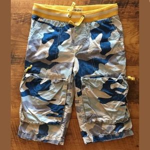 Mini Boden VHTF Techno shorts size 7y Xtreme play!